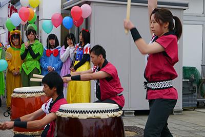 地域の祭り「吉備・陵南まちかど博物館」に参加