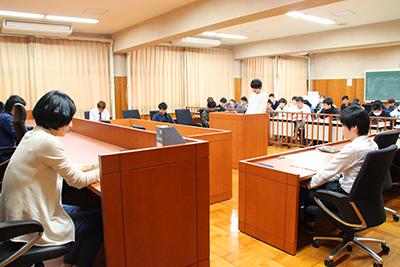 模擬法廷教室